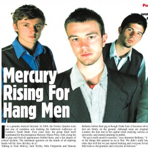 Portico Quartet: Mercury For Rising Hang Men