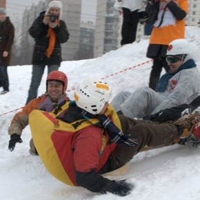 Downhill with a Difference: Moscow's Real Wacky Racers