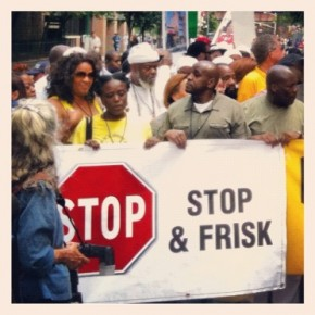 "Thousands march in silence against NYPD's ""Stop and Frisk"""