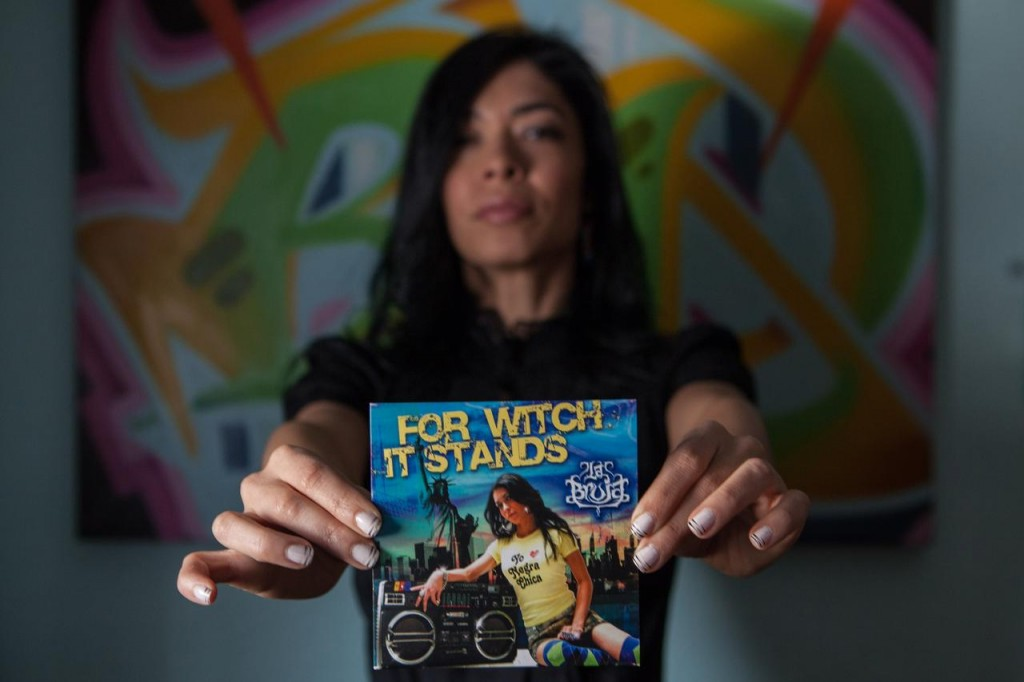 "De La Luz with her 2010 album ""For Witch It Stands."" (Photo by Emon Hassan)"