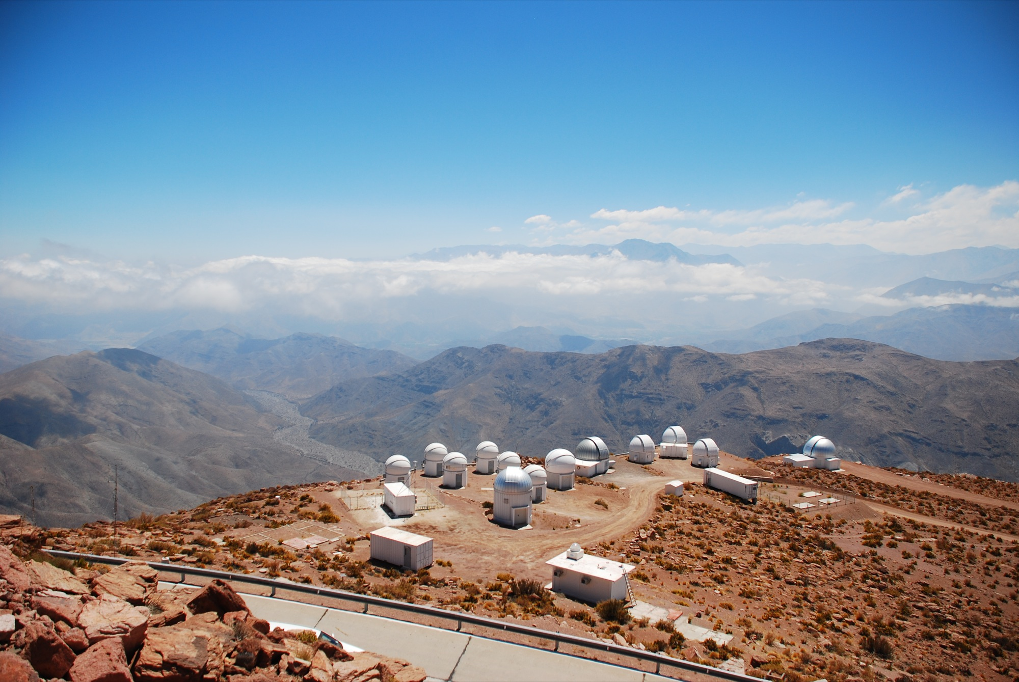 Small telescopes at Cerro Tololo