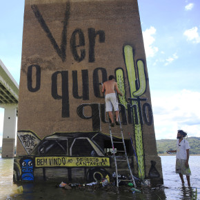 São Paulo water crisis generates wave of Brazilian art activism