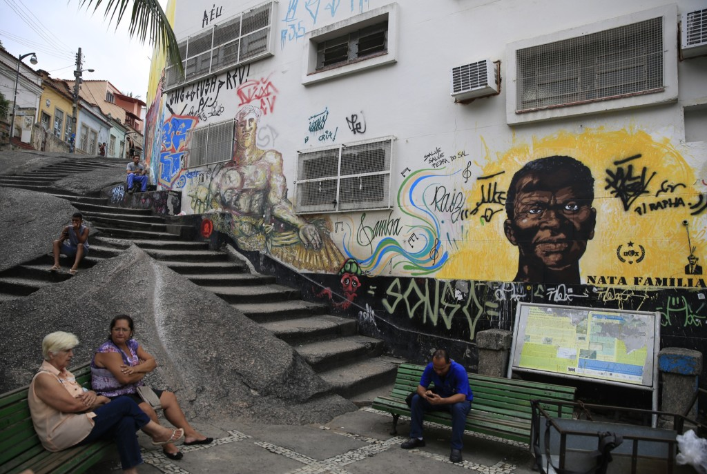 The Pedra do Sal — Rio's fabled birthplace of samba music. Photo by Frederick Bernas.